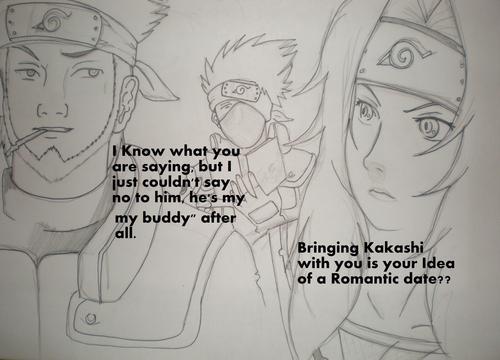 """Asuma's and Kurenai's Romatic """"date,,"""