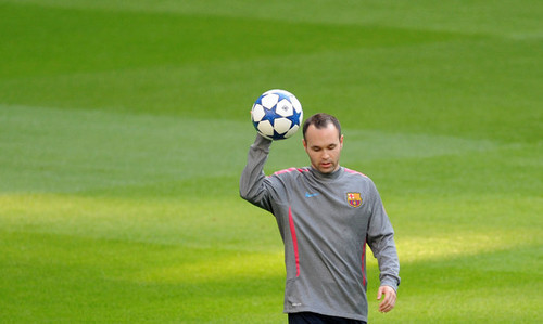 Barcelona Training & Press Conference (April 26, 2011)