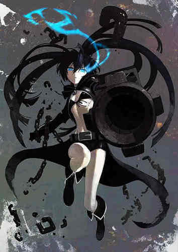Black★Rock Shooter - black%E2%98%85rock-shooter Photo