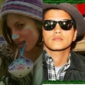 Bruno and HIs fan SHE l'amour
