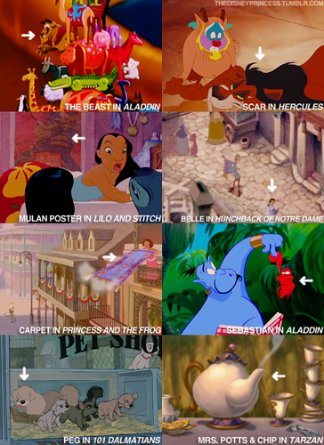 Cameo appearances of Disney Girls
