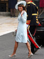 Carole Middleton Wears One of Princess Diana's Favorite Designers to the Wedding - prince-william-and-kate-middleton photo