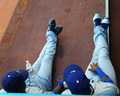Chillin' in the Dugout (; - los-angeles-dodgers photo