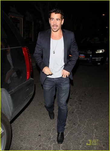 Colin Farrell: Night On The Town!