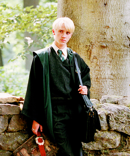 Draco Malfoy wallpaper possibly with an outerwear titled Draco <3