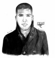 Drake drawing - drake fan art