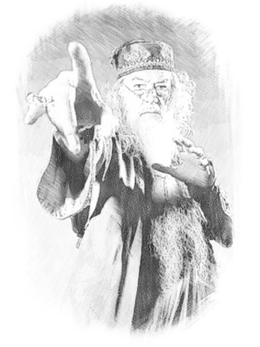 Dumbledore Sketch
