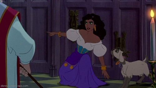 Disney Females wolpeyper titled Esmeralda
