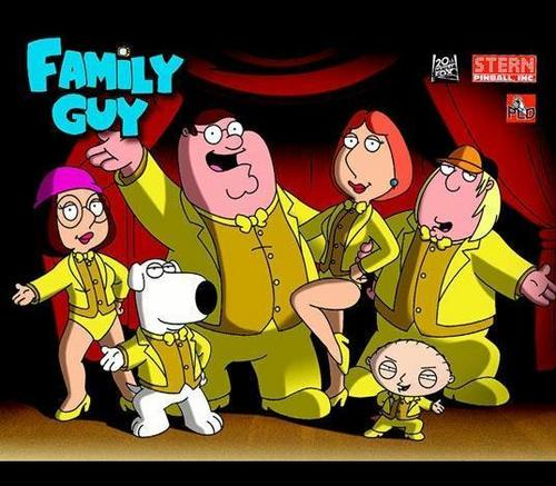 Family Guy- Main characters