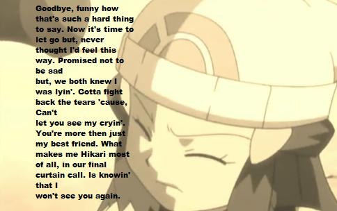 Hikari's Goodbye Song