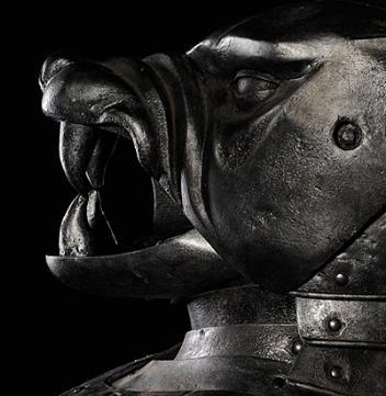 Hound's casque