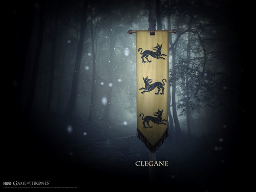 Game of Thrones wallpaper called House Clegane