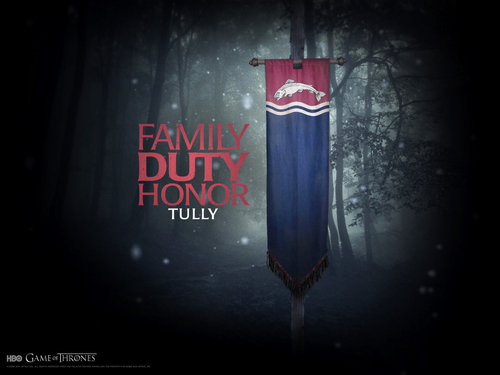 House Tully - game-of-thrones Wallpaper