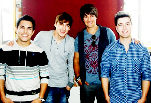 James and Big Time Rush - james-maslow Photo