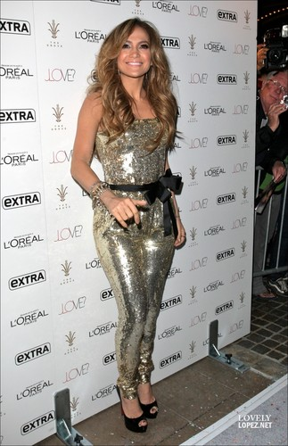 Jennifer Lopez Brings 'Love' to The Grove