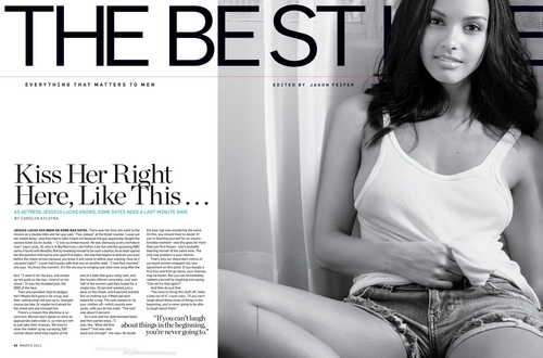 Jessica in Men's Health - March 2011
