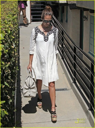 Jessica out in Westwood