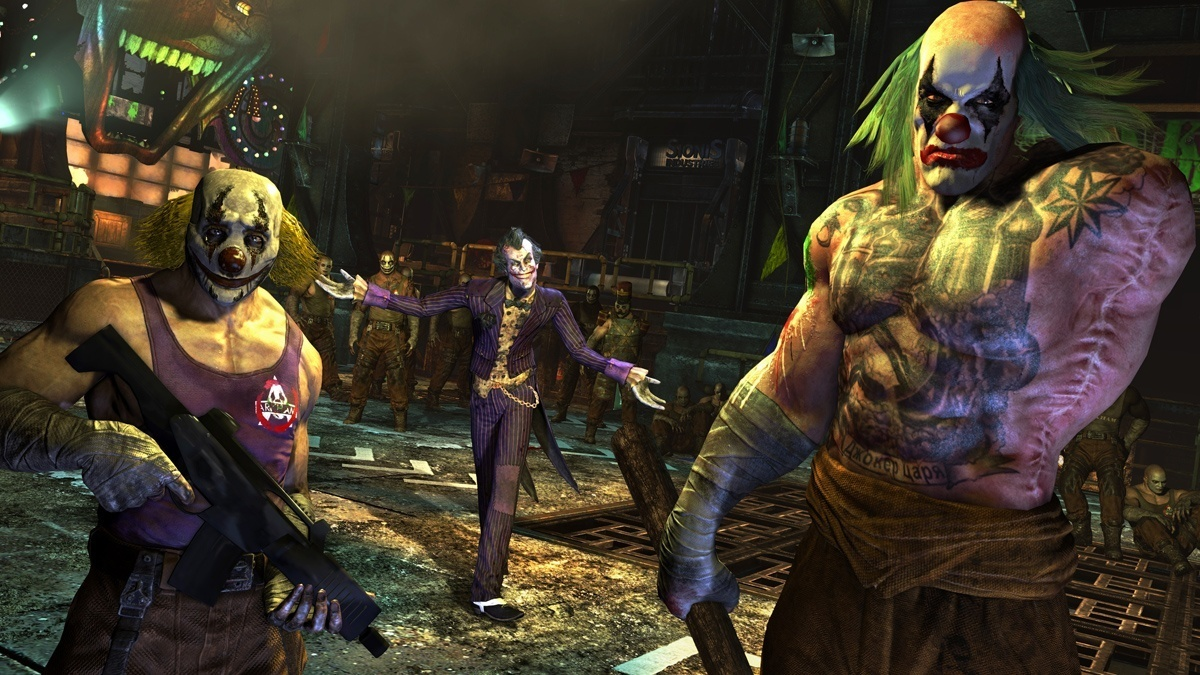 """Batman Arkham City Joker says """"Hello"""""""