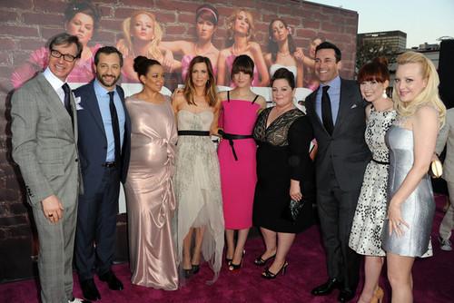 "Jon Hamm - Premiere of ""Bridesmaids"" - Red Carpet"