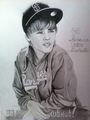 Justin Bieber drawing