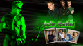 Justin Hartley - Oliver Queen - Green Arrow Smallville karatasi la kupamba ukuta