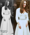 Kate Middleton's 2nd Alexander McQueen wedding gown