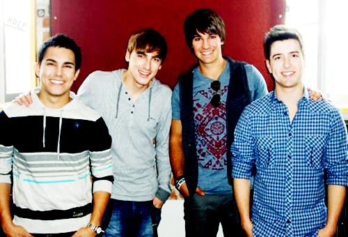 Kendall and Big Time Rush