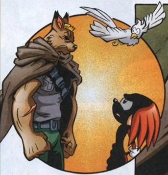 Knuckles and General Von Striker