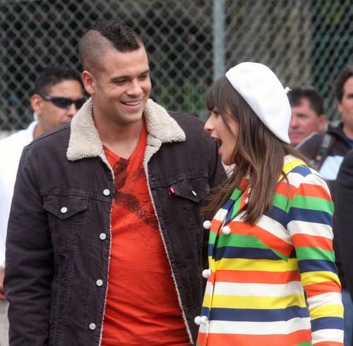 Rachel and Puck images Lea & Mark in NYC HD wallpaper and background photos