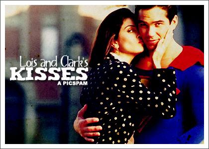 Lois and Clark's Kisses: A Picspam