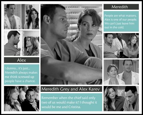Meredith and Alex: Dark and Twisty Friends