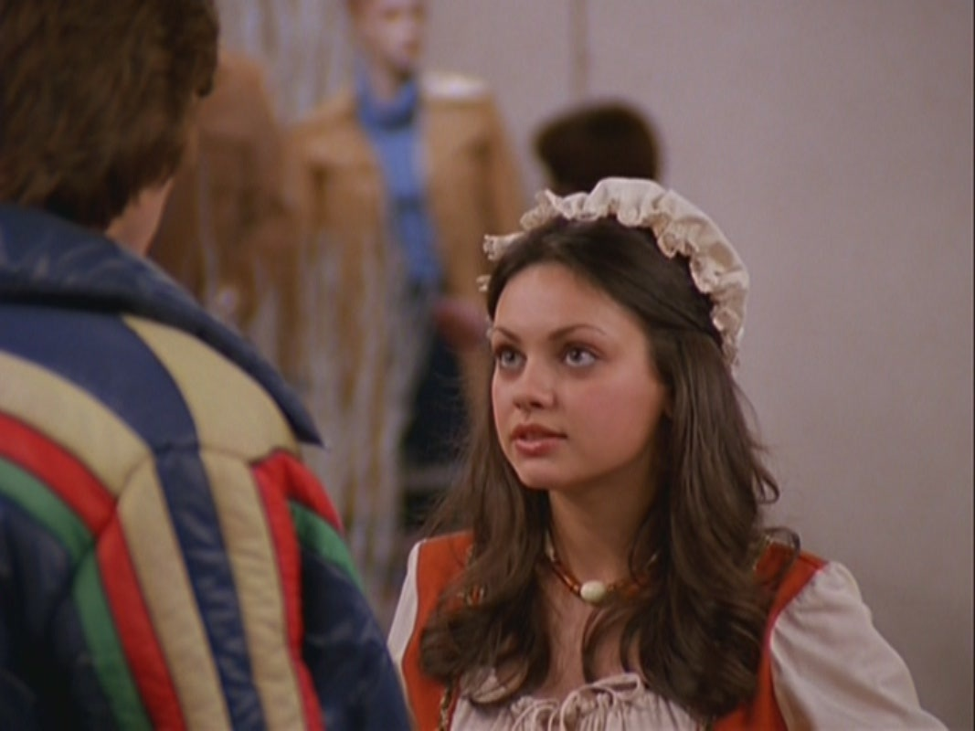 Mila kunis mila kunis in that 70 s show jackie says cheese 4 13