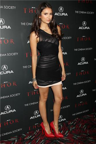"More photos of Nina at The Cinema Society & Acura's Screening Of ""Thor"" [28/04/11]!"