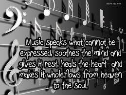 Music quotes and sayings <3