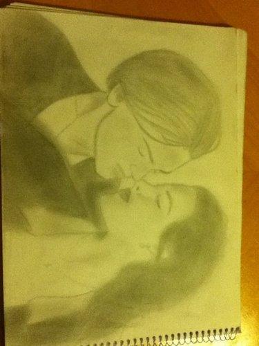 My titanic drawing