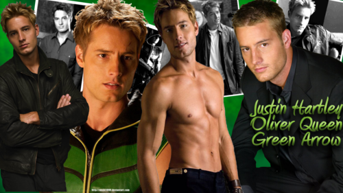 Oliver Queen - Green Arrow - Justin Hartley پیپر وال
