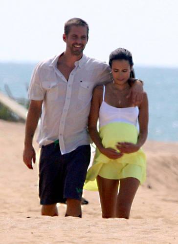 Paul and Jordana Filming Fast Five
