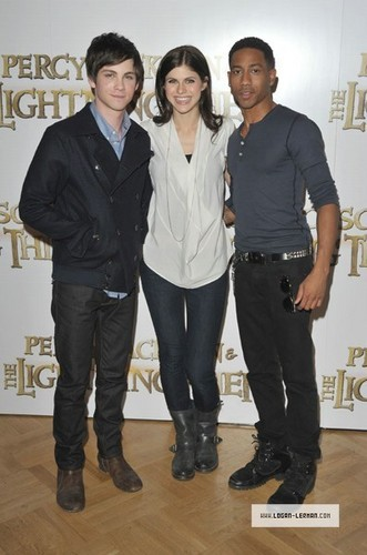 Percy Jackson & The Olympians: The Lightning Thief london Photocall