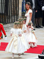 Pippa Middleton and young bridesmaids - prince-william-and-kate-middleton photo