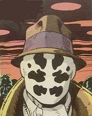 Rorschach [Watchmen Comic Book]