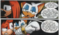 Rouge talking to Knuckles