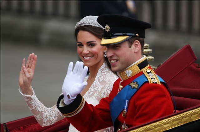 prince william wedding. kate and william wedding photo