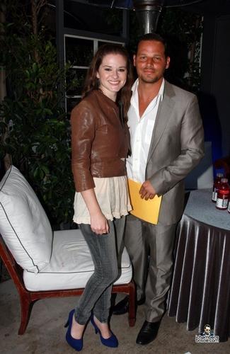Sarah and Justin - 25 July 2010
