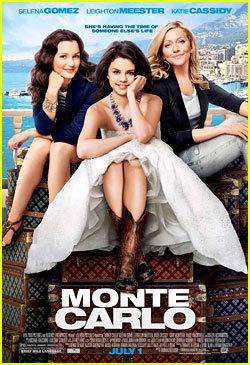 Selena Gomez Official Poster Of Monte Carlo!