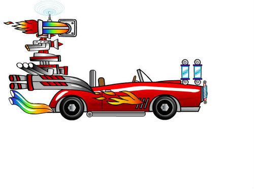 Shadow`s Turbo Car