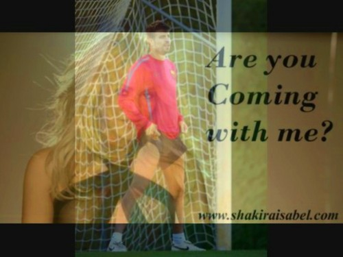 Shakira Piqué: Are anda coming with me ?