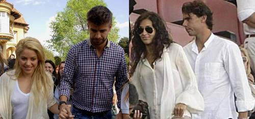 শাকিরা Piqué, Xisca Nadal and their same clothes