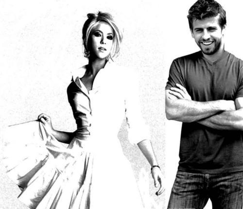 Shakira and Piqué wedding look