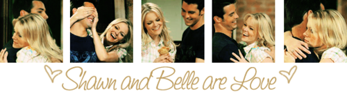 Shawn and Belle are Amore
