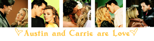 Austin and Carrie are Amore